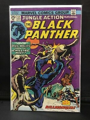Jungle Action #12 The Black Panther  Marvel Comic Book  Hot!  New Movie