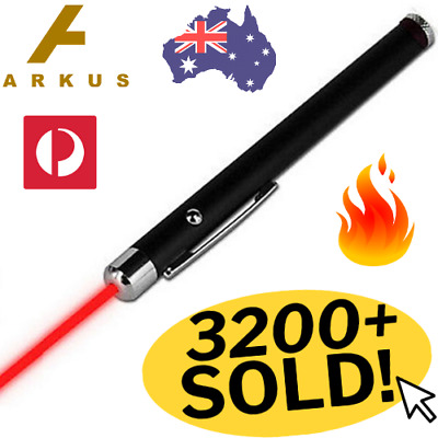 🔥 Red LASER Beam POINTER 650nm 1mW Lazer HIGH Power Presentation Pen Cat Toy