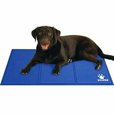 Winsee Pet Cooling Mat  Pad Cushion Dog Cat Non Toxic Gel Large 90 x 50cm