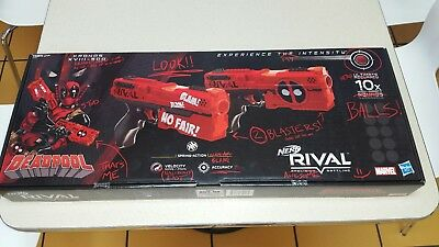 Nerf Rival Deadpool Special Edition 2 Kronos XVIII-500 Blasters, 14+