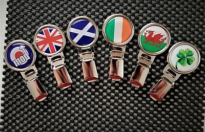 Dog Show Ring Number Clip Pin Fastener - England Scotland Wales Ireland MOD