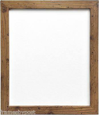 Quality Rustic Oak Effect Picture Photo Frames MDF Wood Multiple Sizes available