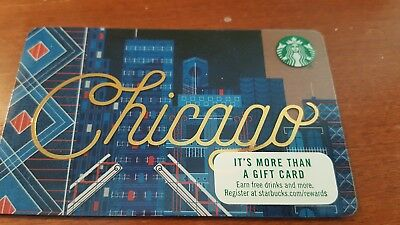Starbucks Chicago  Gift Card Series 6141 - from USA Chicago