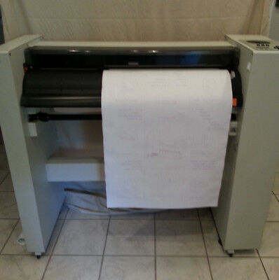 IBM 6187-2 Color Plotter (HP Draftmaster II under the covers) Up to E Size,