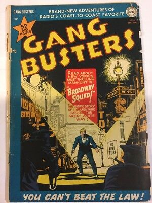 Gang Busters, Issue 19, Dec 1950