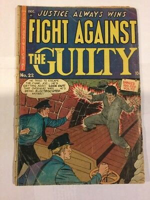 Fight against the Guilty, Issue 22, Dec 1954