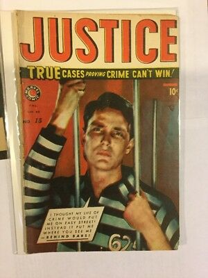 Justice Comics, Issue 15 + 17, Canadian Print