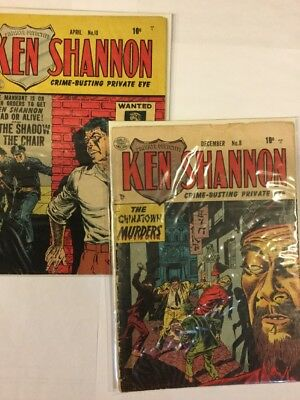 Ken Shannon, Issue 8 and 10