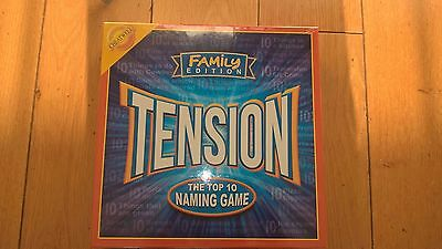 TENSION FAMILY EDITION BOARD GAME by Cheatwell Games - Brand New & SEALED