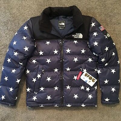 THE NORTH FACE International Collection IC USA Nuptse Jacket Small S ... c3cccbc1b