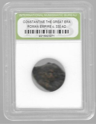Rare Old Ancient Antique CONSTANTINE GREAT Roman Empire War Collection Coin AB47