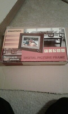 Smartparts Digital Picture Frame 7 Viewable Image Dark Brown