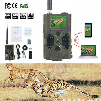 SunTek HC-300M 12MP 940NM MMS/GPRS Scout Infrared Traps Trail Hunting Camera US