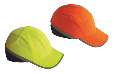 Portwest Hi Vis Work Safety Baseball Bump Cap Hard Hat Head Protection PW79
