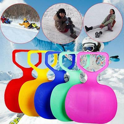 Outdoor Winter Plastic Skiing skating Boards Sled Luge Snow Grass Sand Ra Gift
