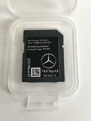 AFRICA MIDDLE EAST Mercedes Benz SD Card Garmin Pilot V3.3 Latest A2139062804