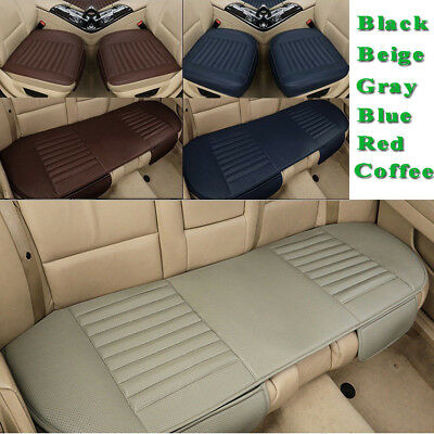 3D Breathable Car Seat Cover PU Leather Protector Cushion for Car Seat Universal