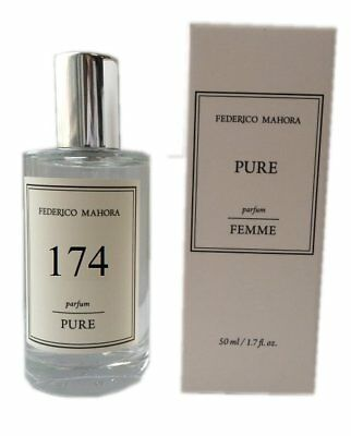 Fm Group Fm 174 Pure Federico Mahora 20 Ladies Perfume Women 50ml