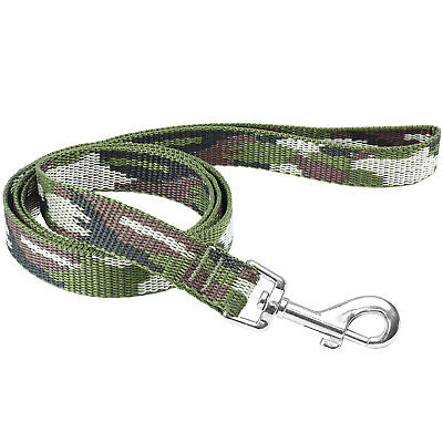 Me & My Pets 1.2M Dog/puppy Lead Green Army Camo Print Walking Training Leash