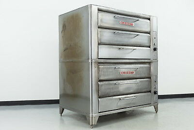 "Blodgett 981 Double Deck 42"" Gas Deck Oven"