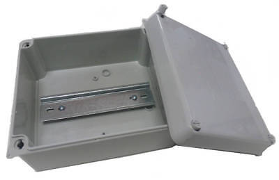 Wiska Surface Sealed Adaptable Box with Din Rail IP65