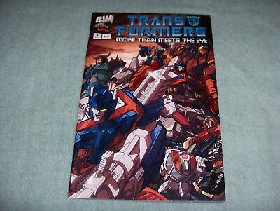 Transformers More than Meets the Eye #1 ~ NEAR MINT NM ~ (2003, DW Comics)