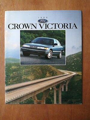 1996 Ford Crown Victoria Full Color Sales Brochure