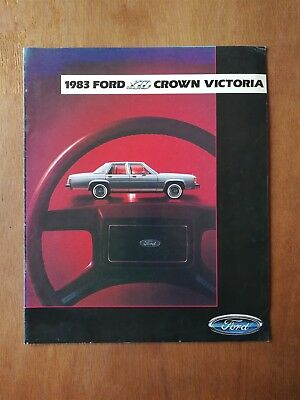 1983 Ford Crown Victoria Full Color Sales Brochure