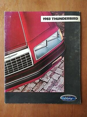 1983 Ford Thunderbird Sales Brochure - 20 Pages