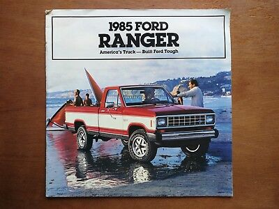 1985 Ford Ranger Truck Sales Brochure - 20 Pages