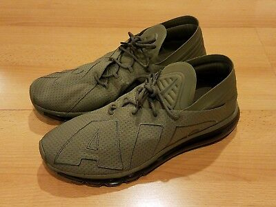 05c1808128 Nike Air Max Flair Uptempo Running Shoes Olive/sequoia 942236-200 Mens Sz 11