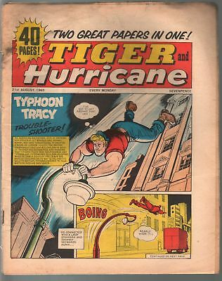 Tiger and Hurricane 8/21/1965-Johnny Cougar-Val Venture-British-G