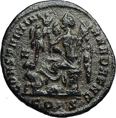 CONSTANTINE I the GREAT Victory vs LICINIUS I 327AD Ancient Roman Coin i67766