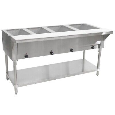 "Advance Tabco HF-3E 47"" 3-Well Electric Steam Table 