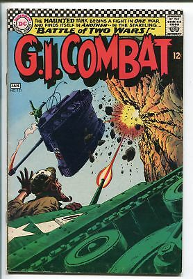 G.I. COMBAT #121 1967-DC-SGT ROCK'S FATHER- HAUNTED TANK STORY-vf