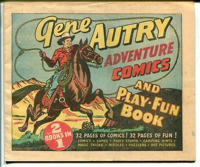 Gene Autry Adventure 1947-32 pages-comics-games-puzzles-FN/VF