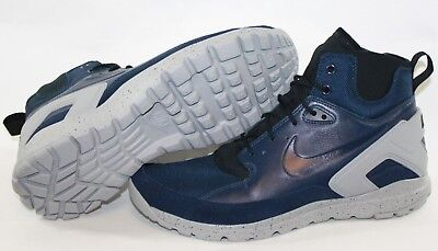 finest selection 0c730 8dcfd NEW Mens NIKE Koth Ultra Mid 749484 400 Obsidian Dark Blue Grey Sneakers  Shoes