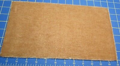 German Mini Mohair Lt. Beige Gold 7 Inch by 12 Inch – For Bearmaking & Crafting