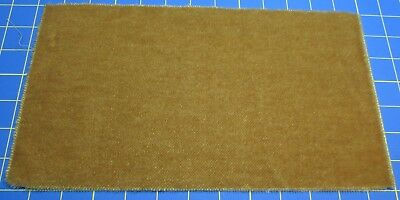 German Mini Mohair Medium Gold 7 Inch by 12 Inch – For Bearmaking & Crafting