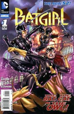 Batgirl (2011 series) Annual #1 in Near Mint + condition. FREE bag/board