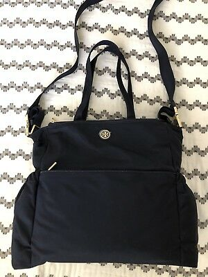 TORY BURCH Nylon TRAVEL BABY DIAPER SHOULDER Bag $395 new