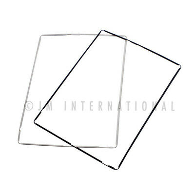 Frame Bezel for iPad 3 3rd PRE-ADHESIVED White Screen Digitizer Plastic Mid