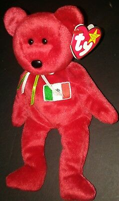 Ty Beanie Babies Osito Thr Bear Mexico Dob 2-5-1999 W/tags Great Condition New