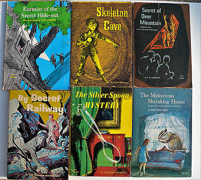 Lot of 6 Children's Vintage Paperbacks Scholastics Books from the 1960's &1970's