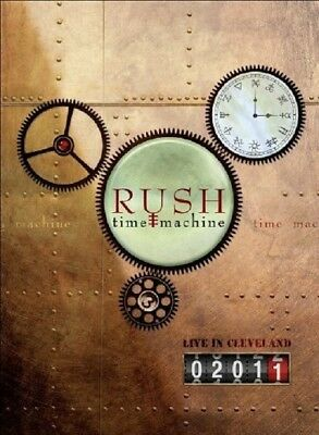 Rush - Time Machine 2011: Live In Cleveland   Dvd New+