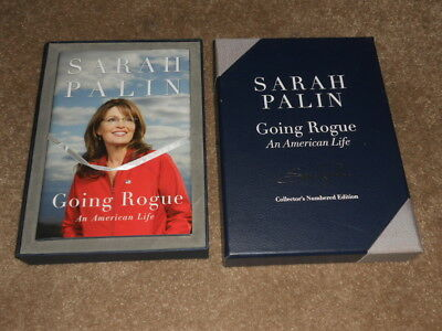 Sarah Palin Going Rogue Numbered Autographed Collector's Edition In Box