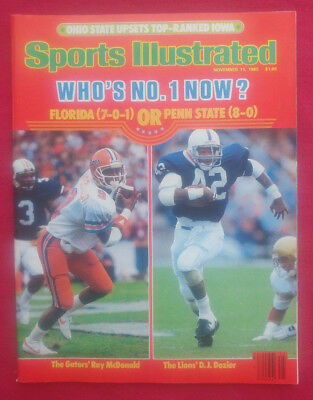 1985 NCAA FLORIDA RAY McDONALD & PENN STATE DOZIER Sports Illustrated NO LABEL