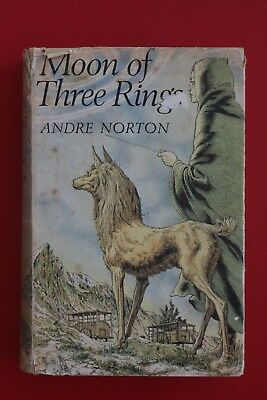 *RARE* MOON OF THREE RINGS by Andre Norton - Science Fiction (HC/DJ, 1971)