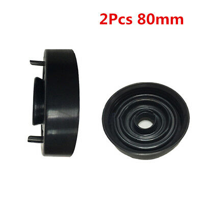 uxcell 2pcs 93mm Rubber Waterproof Car LED HID Headlight Dust Cover Seal Cap Housing