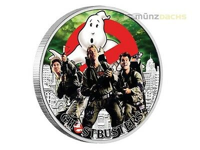 1$ Dollar Ghostbusters™ - La Crew - The Crew TUVALU 1 once Pouces PP ARGENT 2017